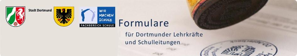 Formulare Dortmunder Schulen